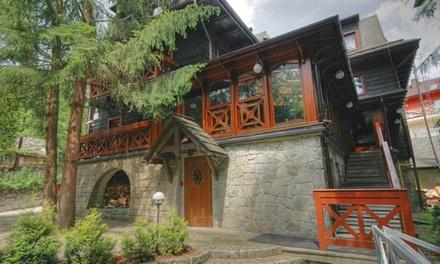 Wisła: 1-7 nocy dla 2 osób ze śniadaniami lub wyżywieniem HB, sauną i więcej w Villi Silesia