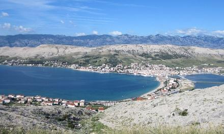 Chorwacja, wyspa Pag: 10-dniowe wczasy dla 1 osoby, 7 noclegów, wyżywienie HB, transport autokarem i więcej